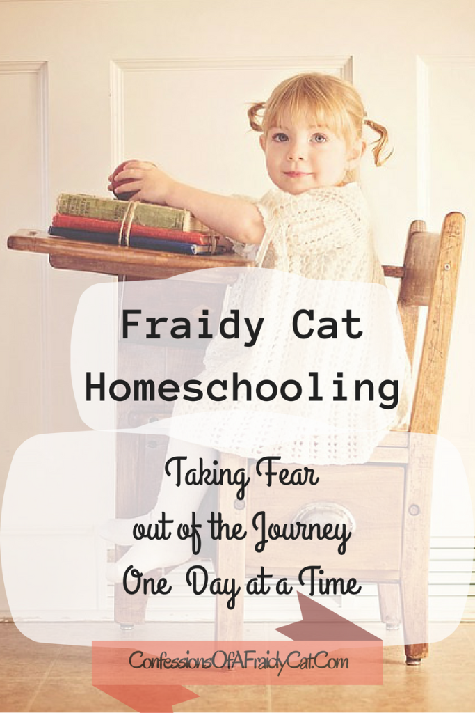 Fraidy Cat Homeschooling Taking Fear out of the Journey One Day at a Time