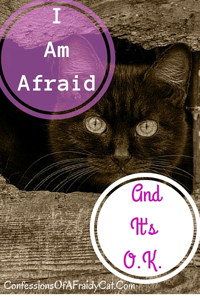 I Am Afraid . . . and It's O.K.